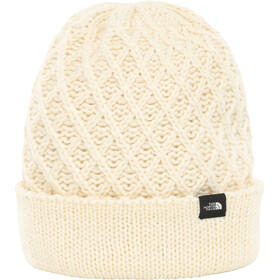 The North Face Shinsky Beanie Vintage White Criss Cross Stitch